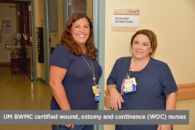 Ostomy Outpatient Clinic nurses