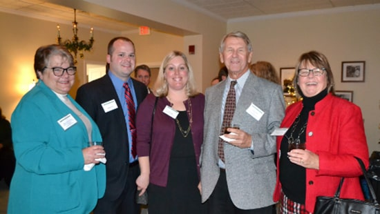 Mary Alice Vanhoy, Ed Lisle, Lisa Lisle, Gary Jones and Ruth Ann Jones were among the guests at the UM Memorial Hospital Foundation Donor Appreciation Event
