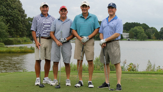 Orthopedic Center Team at the Golf Tournament