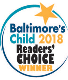 2018 Reader's Choice Winners from Baltimore's Child