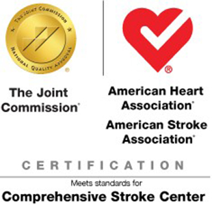 Joint Commission, American Heart Association Certification logo